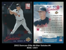 2002 Donruss Elite All-Star Salutes #4