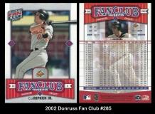 2002 Donruss Fan Club #285