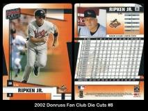 2002 Donruss Fan Club Die Cuts #8