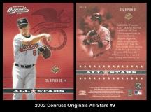 2002 Donruss Originals All-Stars #9