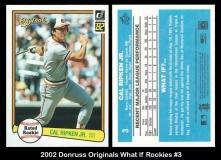 2002 Donruss Originals What If Rookies #3