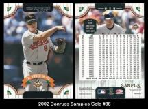 2002 Donruss Samples Gold #8