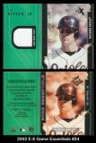 2002 E-X Game Essentials #24