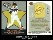 2002 Fleer Box Score #272