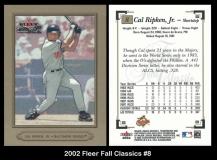 2002 Fleer Fall Classics #8