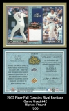 2002 Fleer Fall Classics Rival Factions Game Used #42