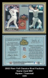 2002 Fleer Fall Classics Rival Factions Game Used #60
