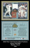 2002 Fleer Fall Classics Rival Factions Game Used #63
