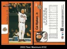 2002 Fleer Maximum #102