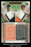 2002 Fleer Platinum Cornerstones #11