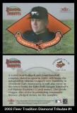 2002 Fleer Tradition Diamond Tributes #1