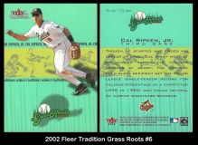 2002 Fleer Tradition Grass Roots #6