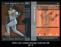 2002 Leaf Limited Chicago Collection #8