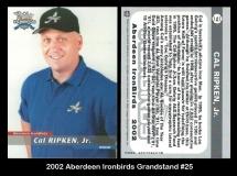 2002 Aberdeen Ironbirds Grandstand #25