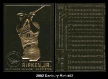 2002 Danbury Mint #52