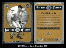 2002 Sweet Spot Classics #18