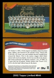 2002 Topps Limited #644