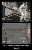 2002 Ultimate Collection Game Jersey Tier 2 #CR