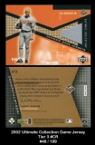 2002 Ultimate Collection Game Jersey Tier 3 #CR