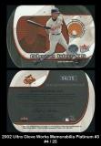 2002 Ultra Glove Works Memorabilia Platinum #3