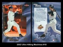 2002 Ultra Hitting Machines #18