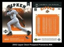 2002 Upper Deck Prospect Premieres #98