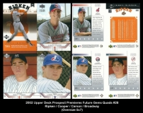 2002 Upper Deck Prospect Premiers Future Gems Quads #28