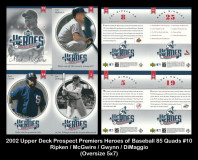 2002-Upper-Deck-Prospects-Premieres-Heroes-of-Baseball-85-Quads-10