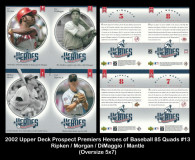 2002-Upper-Deck-Prospects-Premieres-Heroes-of-Baseball-85-Quads-13