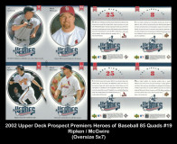 2002-Upper-Deck-Prospects-Premieres-Heroes-of-Baseball-85-Quads-19