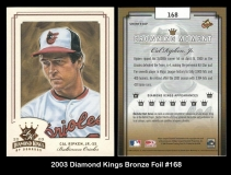 2003 Diamond Kings Bronze Foil #168