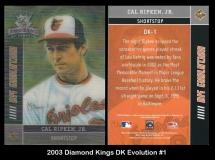 2003 Diamond Kings DK Evolution #1