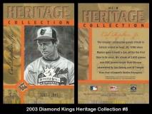 2003 Diamond Kings Heritage Collection #8
