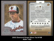 2003 Diamond Kings Silver Foil #168
