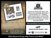 2003 Diamond Kings eBay Promo Card #NNO
