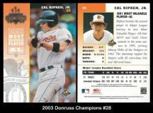 2003 Donruss Champions #28