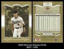 2003 Donruss Classics #123