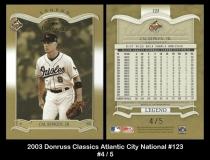 2003 Donruss Classics Atlantic City National #123