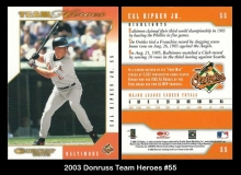 2003 Donruss Team Heroes #55