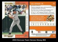 2003 Donruss Team Heroes Glossy #55