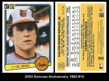 2003 Donruss Anniversary 1983 #10