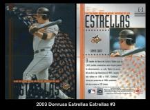 2003 Donruss Estrellas Estrellas #3