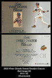 2003-Flair-Greats-Sweet-Swatch-Classic-Bat-Image-3