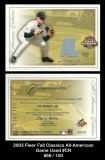 2003 Fleer Fall Classics All-American Game Used #CR