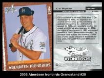 2003 Aberdeen Ironbirds Grandstand #25