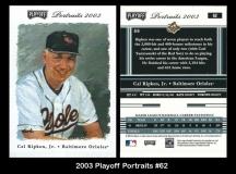 2003 Playoff Portraits #62