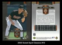 2003 Sweet Spot Classics #10