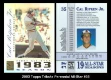 2003 Topps Tribute Perennial All-Star #35