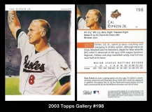 2003 Topps Gallery #198