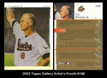 2003 Topps Gallery Artist's Proofs #198